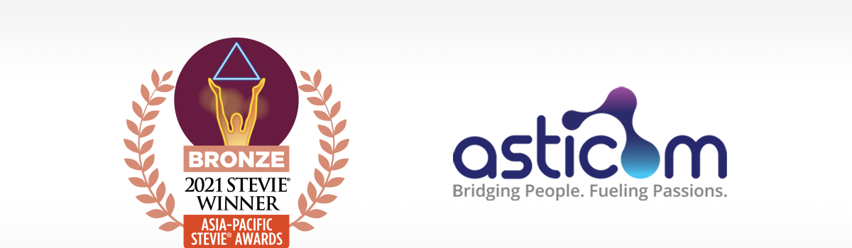 Asticom bags a double win of Bronze in STEVIE® Awards
